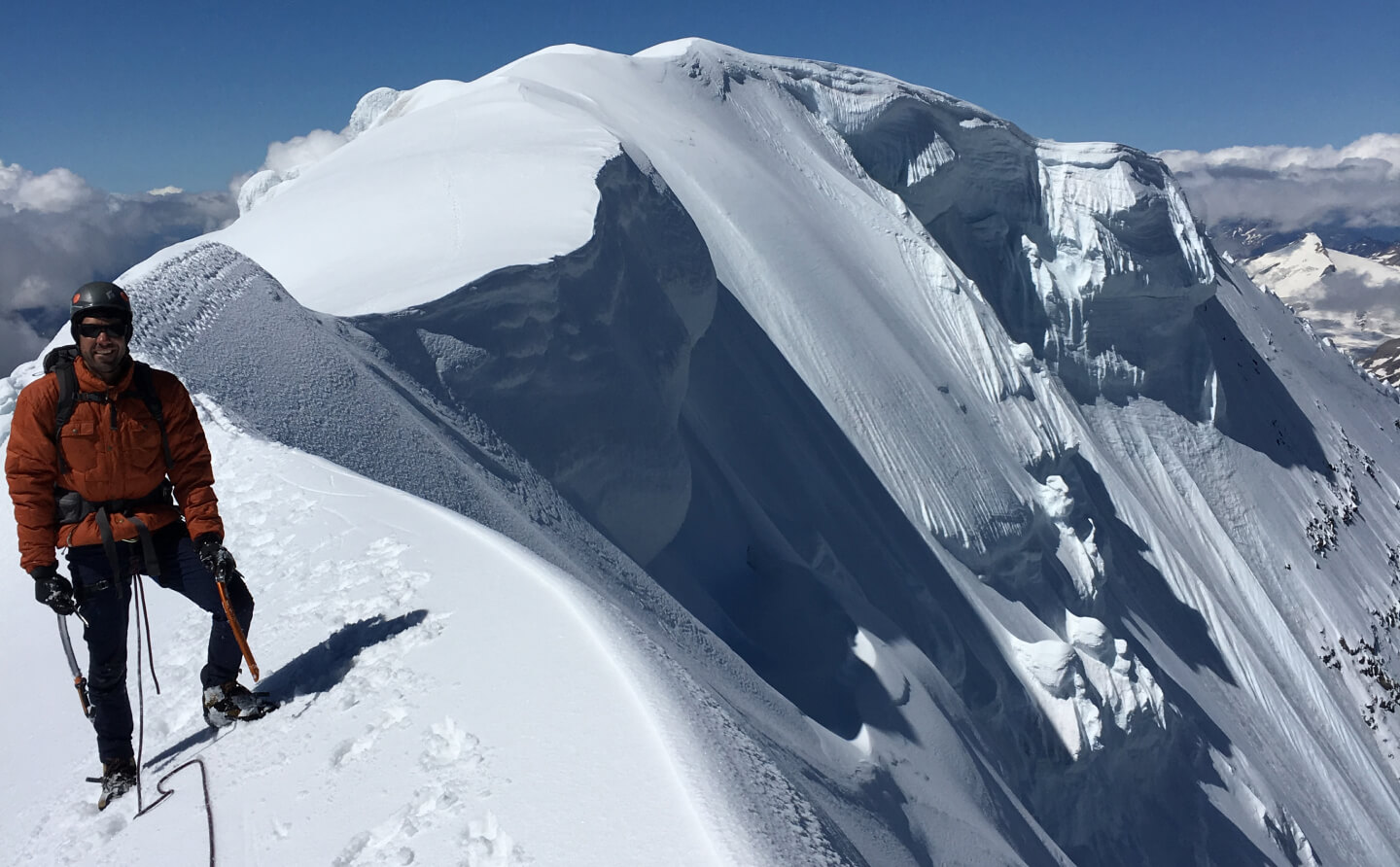 Banff National Park offers some of the best alpine climbing opportunities in North America.