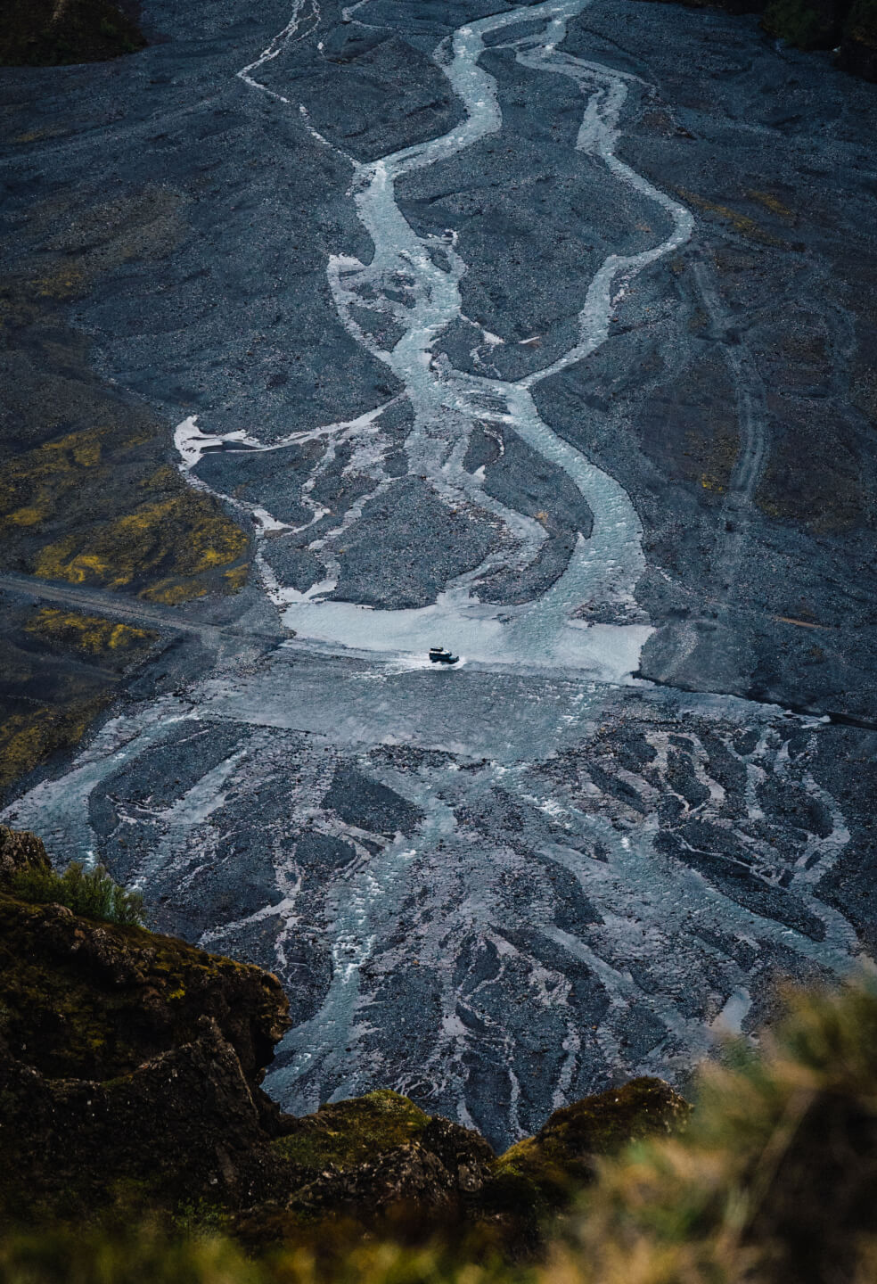 The glacial rivers of Iceland are simply out of this world.