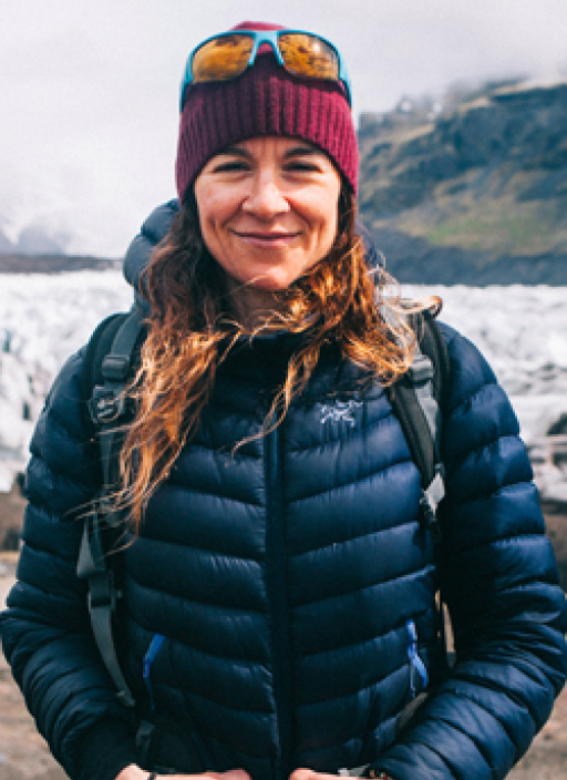 Mónica is a mountain guide certified by UIMLA who will take you on this amazing adventure around Iceland.