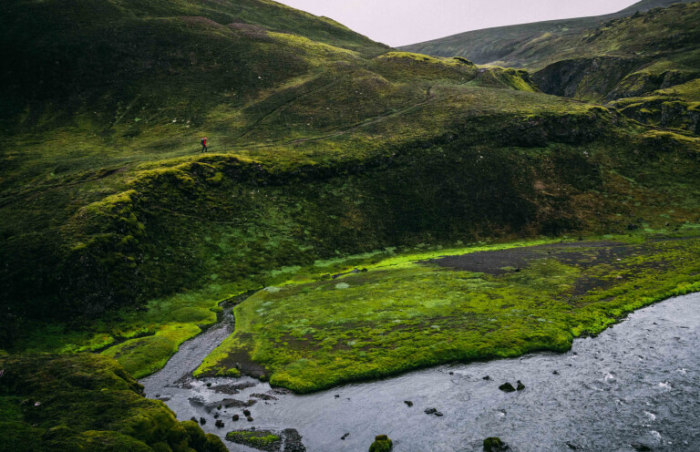 Strutur is an area that is well-known for its hot springs.