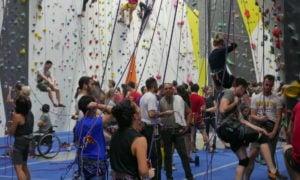 Indoor Climbing at Cliffs