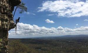 Climbing at the Gunks