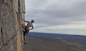The Gunks rock climbing