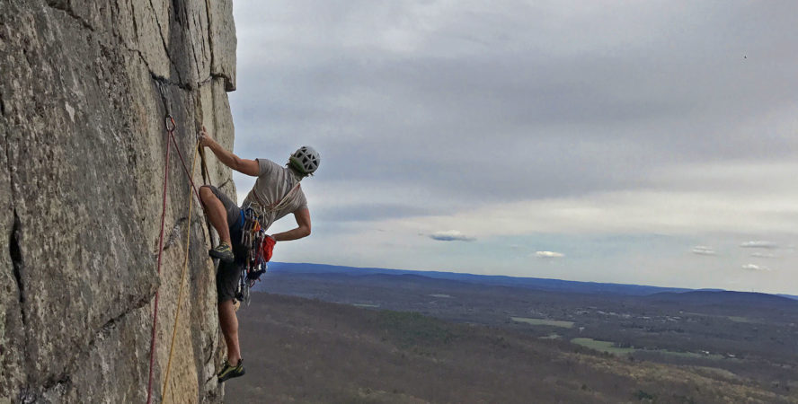 The Gunks rock climbing