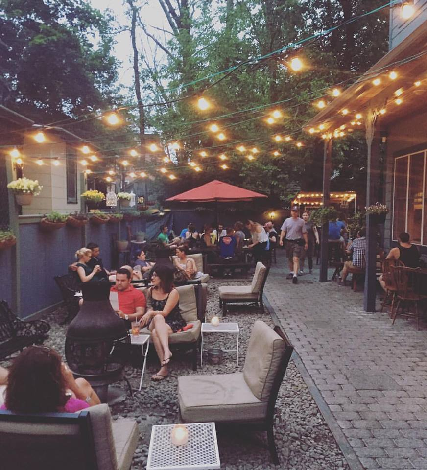 Huckleberry's patio. | Photo by Huckleberry via Facebook