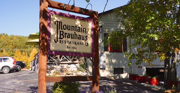 Mountain Brauhaus exterior. | Photo by Mountain Brauhaus via Website