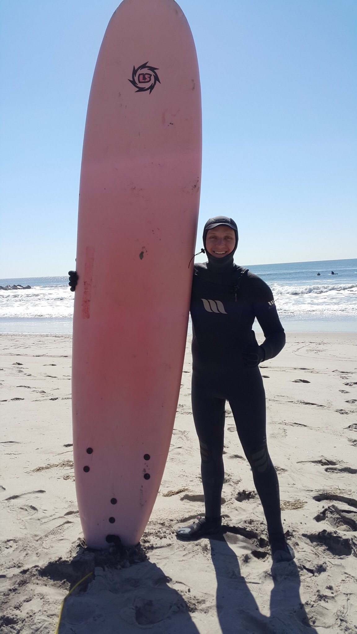 Perica, our loveable, if a bit goofy surfer