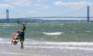 New York kiteboarding