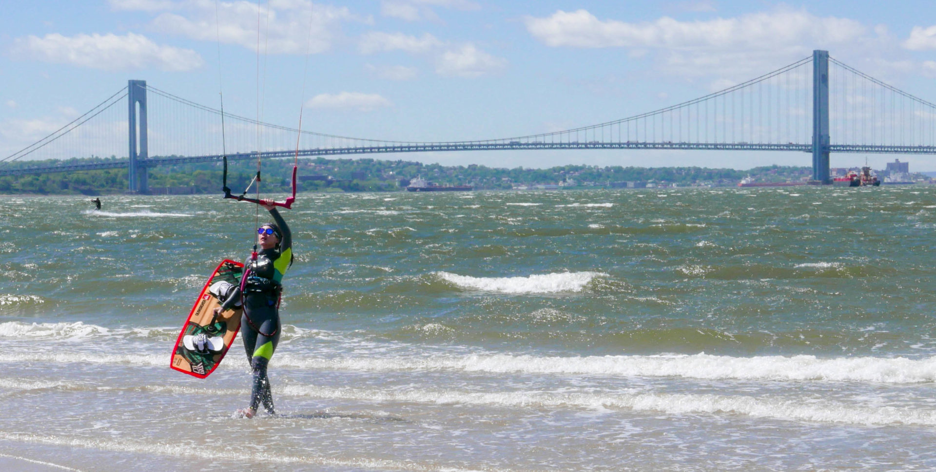 To kiteboard, you must first learn to control your kite.