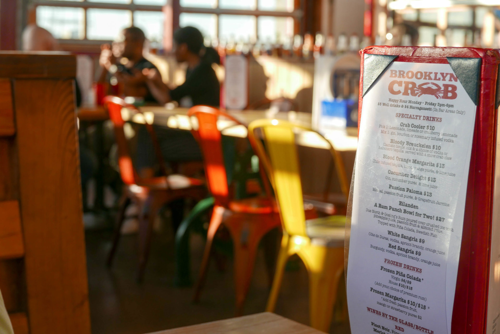Brooklyn Crab is one of our favorite places to eat after Plumb Beach.