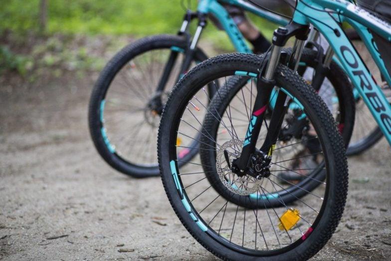 Bike Hike Tours NYC's bike selection.