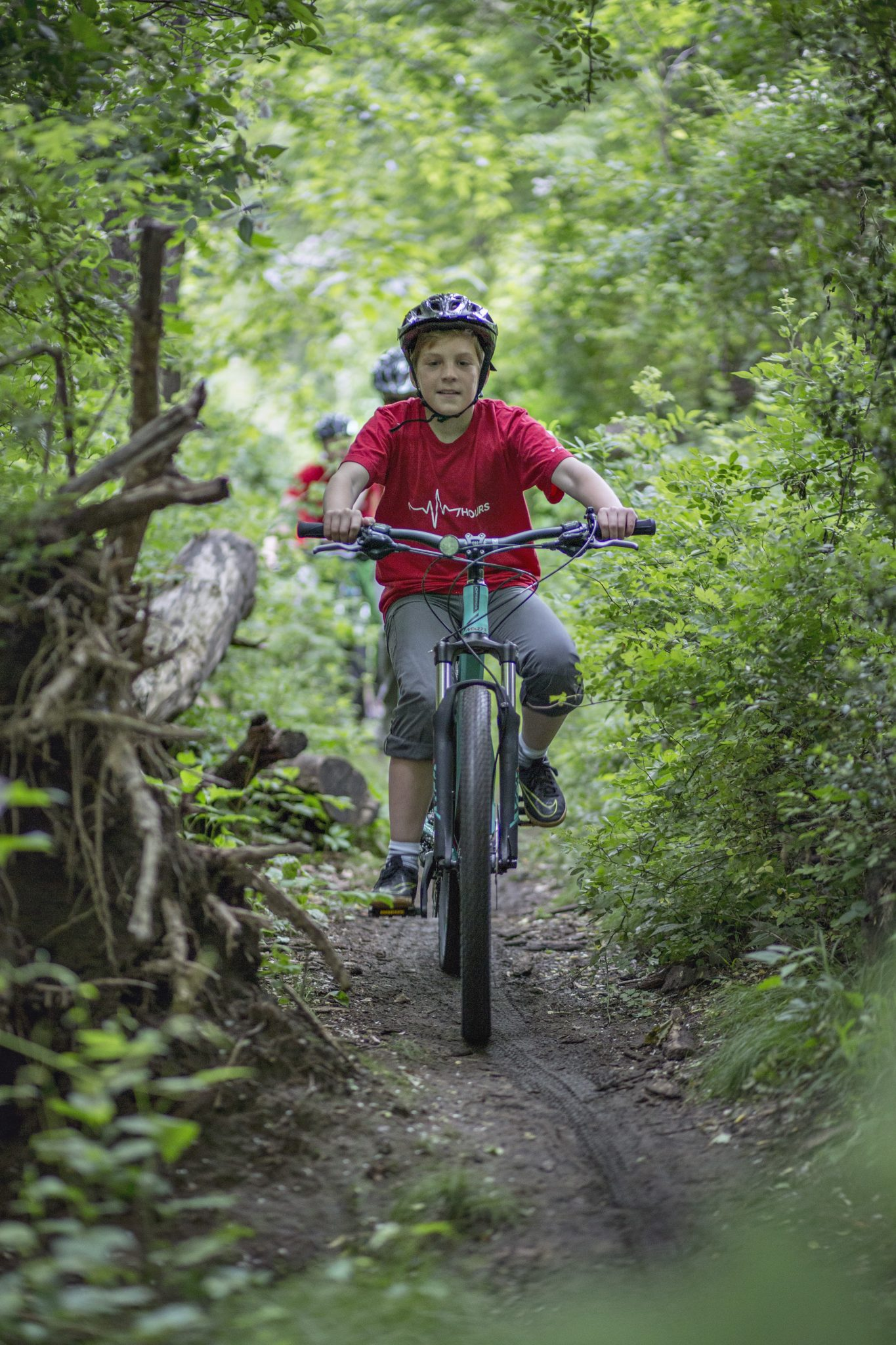 MTB is fun for all ages, right Jakov?
