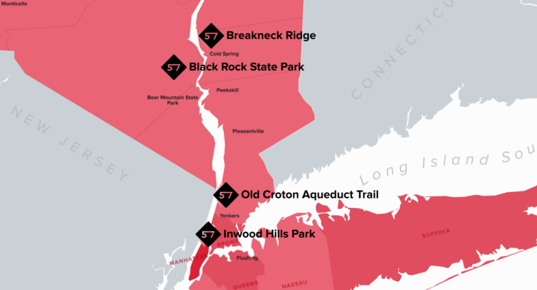 57hours Favorite NYC Hiking Trails