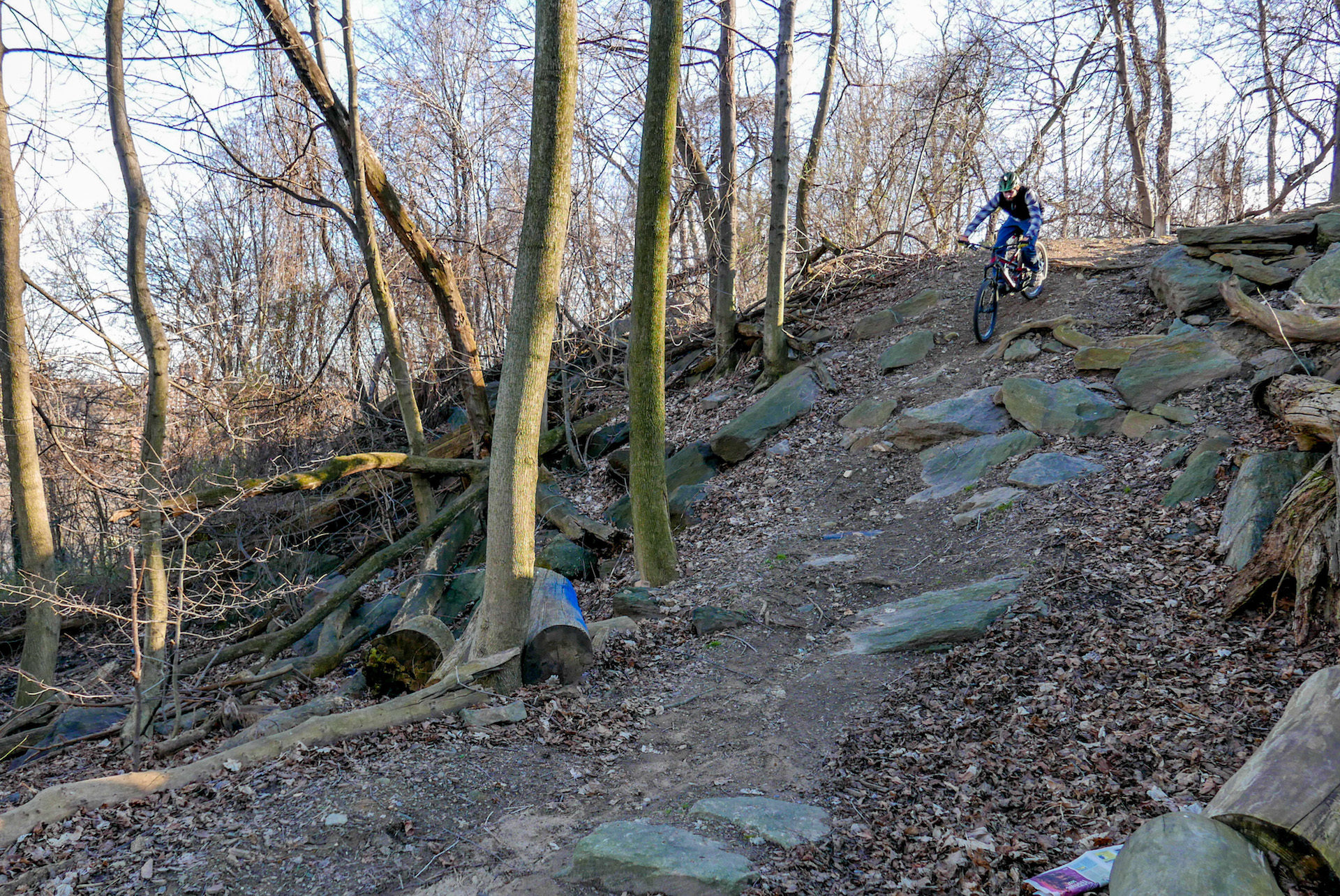 There are some quality descents on Fort George Hill.