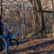 MTB trail in Highbridge Park