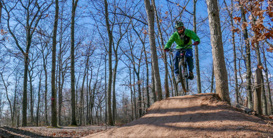 mountain biking in Staten Island