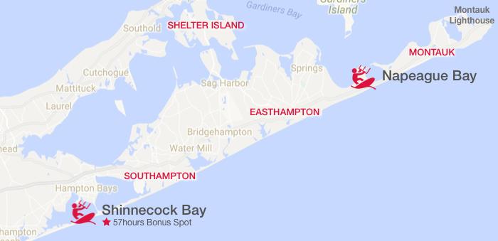Kiteboarding spots around the Hamptons and Montauk