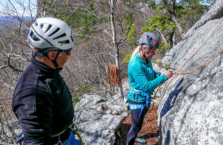 Women's Climbing in The Gunks