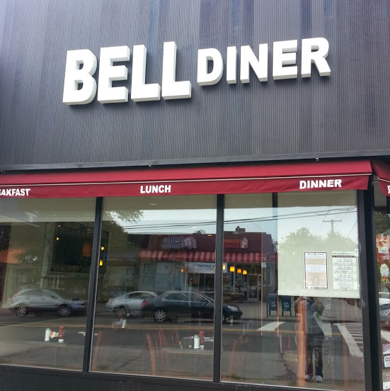 Bell Diner's exterior. Photo by Bell Diner via Facebook