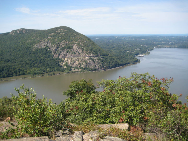 After the challenging ascent, Breakneck Ridge has views for miles. Photo by the the Turducken