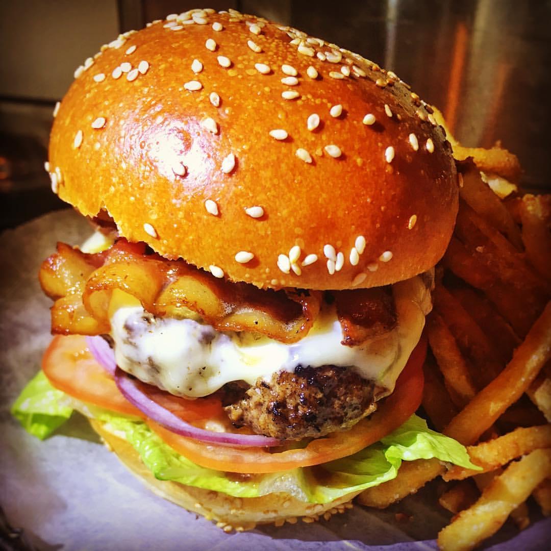A Chillax burger. Photo by Chillax via Facebook