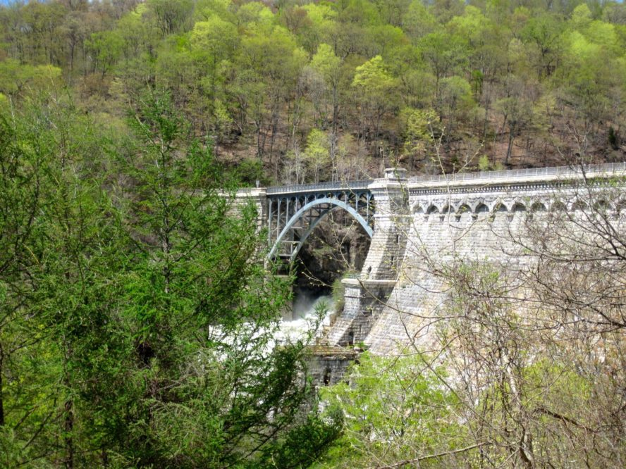 The Croton Aqueduct provided NYC water in the 1800's. Photo by ScubaBear68