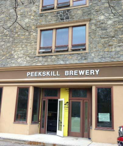 Peekskill Brewery exterior. | Photo by Peekskill Brewery via Facebook
