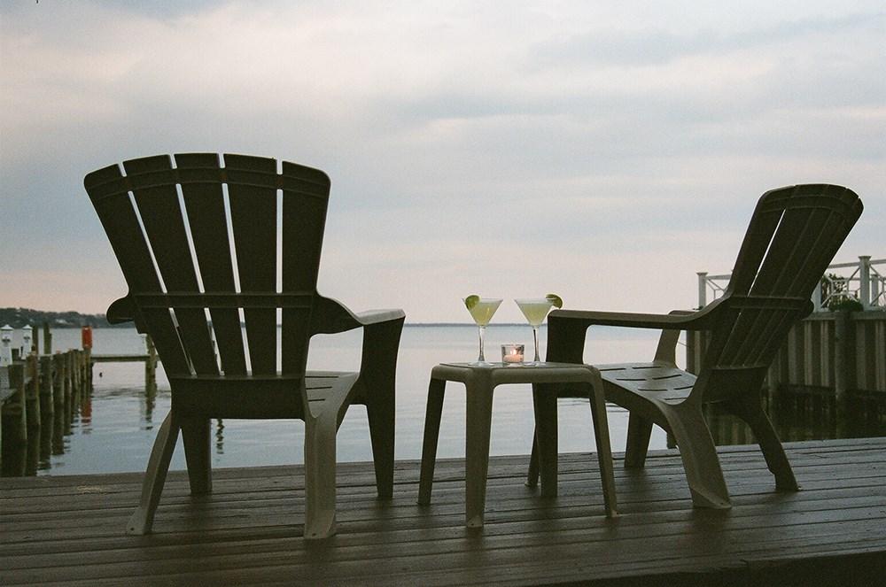 Rumba's deck. Photo by Rumba via Facebook