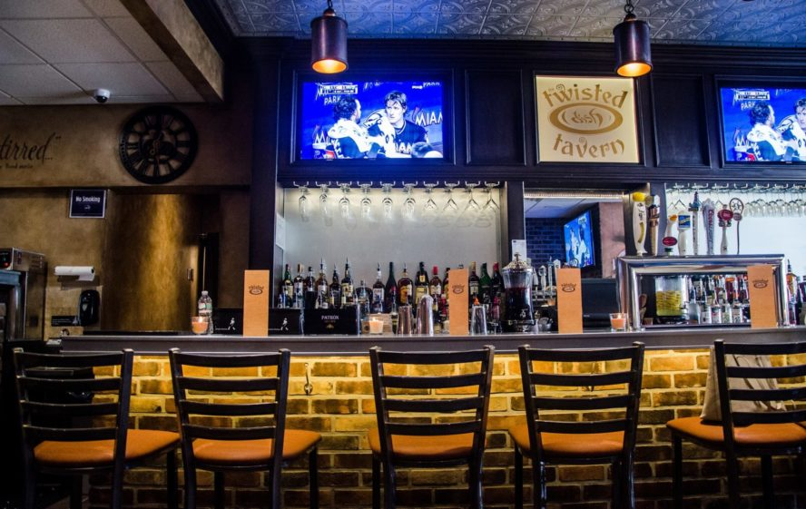 Twisted Dish's bar.   Photo by Twisted Dish via Facebook
