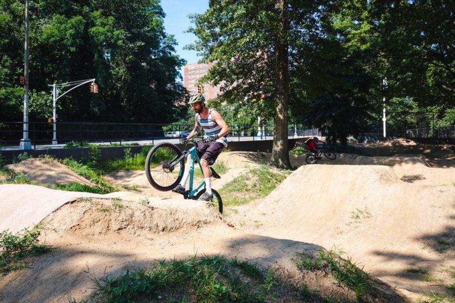 Mountain Biking Highbridge Park