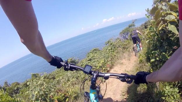 Mountain Biking Hither Woods