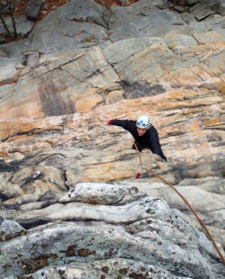 rock climbing adirondacks