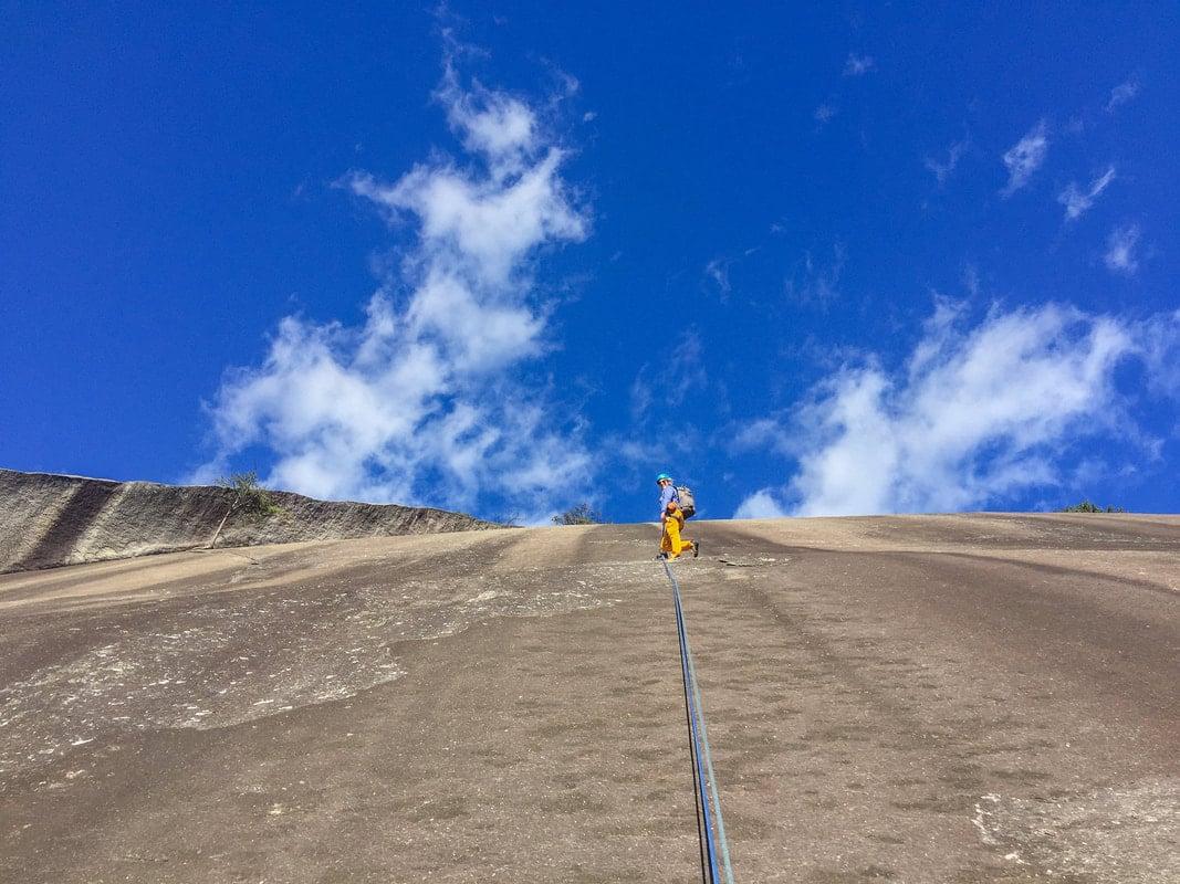 stone mountain north carolina climbing