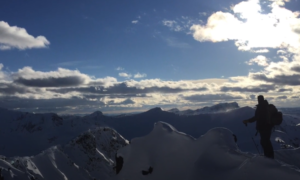 Cook City backcountry skiing video