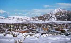 Crested Butte is a quaint 1880s mining town and a National Historic District. It's also the