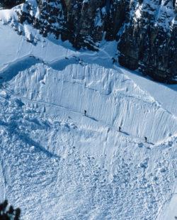 avalanche path