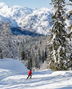 Julian Alps backcountry skiing tour