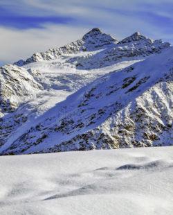 Mount Elbrus region backcountry skiing