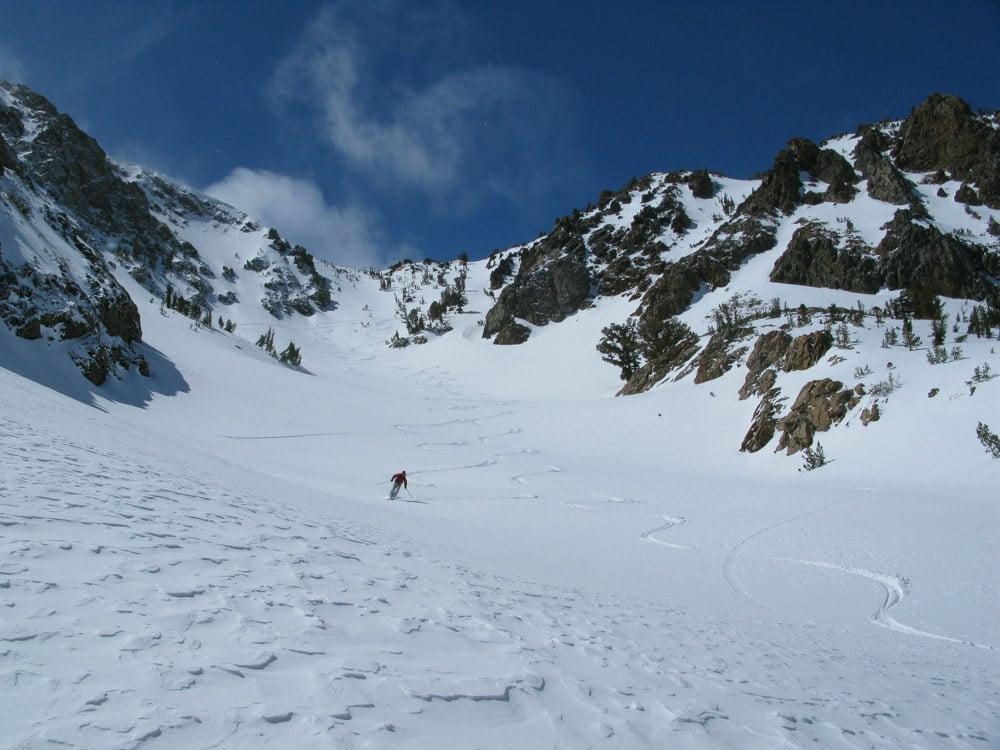 june mammoth skiing traverse smg