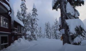 Journeyman Lodge backcountry skiing video