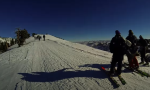 Lake Tahoe avalanche rescue video