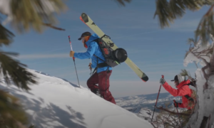 Lake Tahoe backcountry skiing video