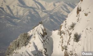 Mega backcountry skiing in Wasatch