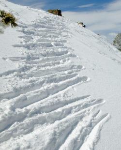Lake tahoe snow alpenglow avalanche
