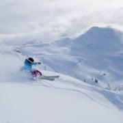 skiing coast mountains