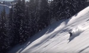 Backcountry skiing in Wasatch