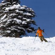 Skiing some Colorado Powder