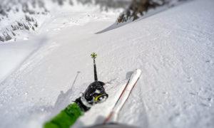 Backcountry skiing in Colorado