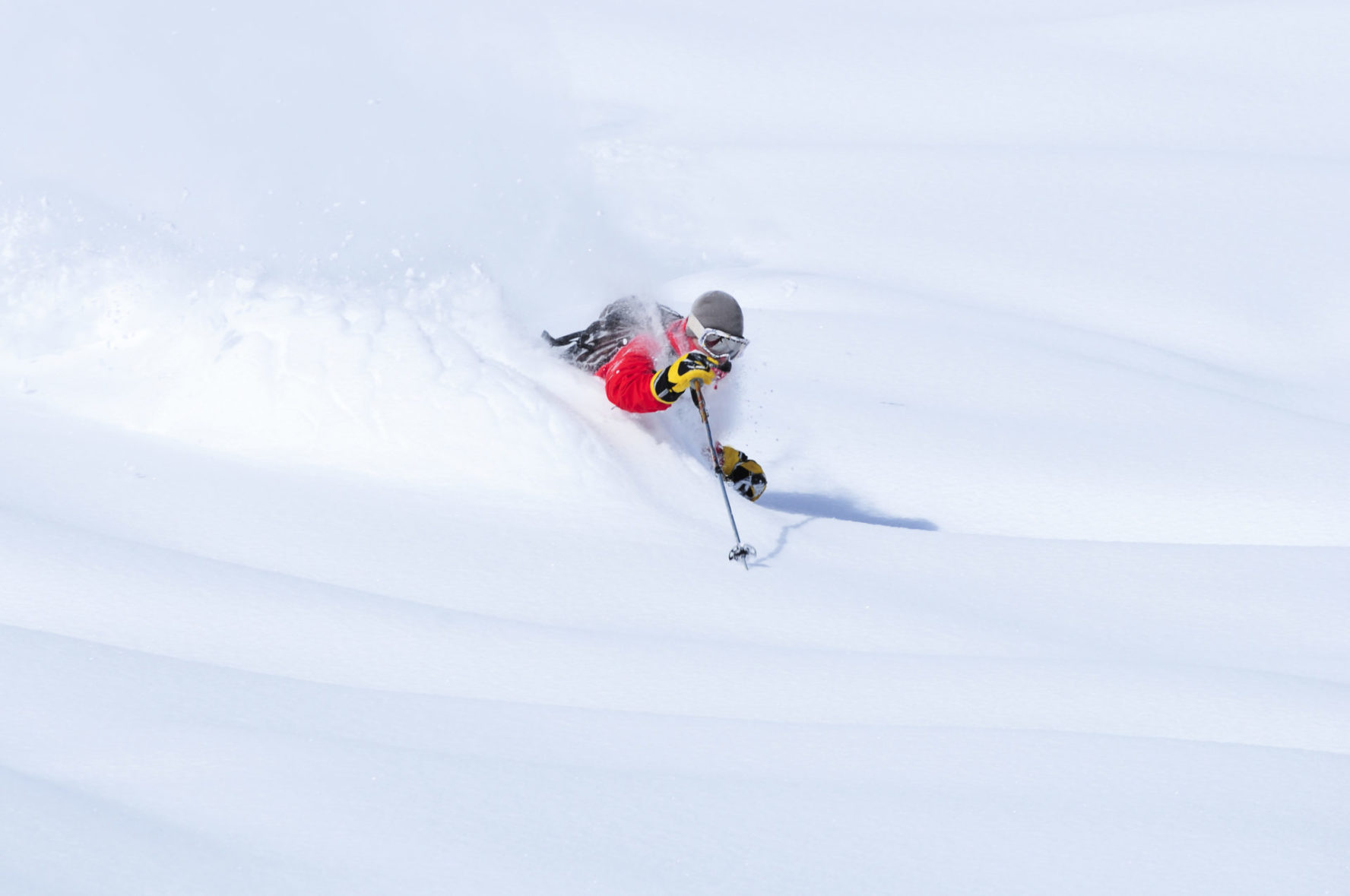 Colorado powder skiing
