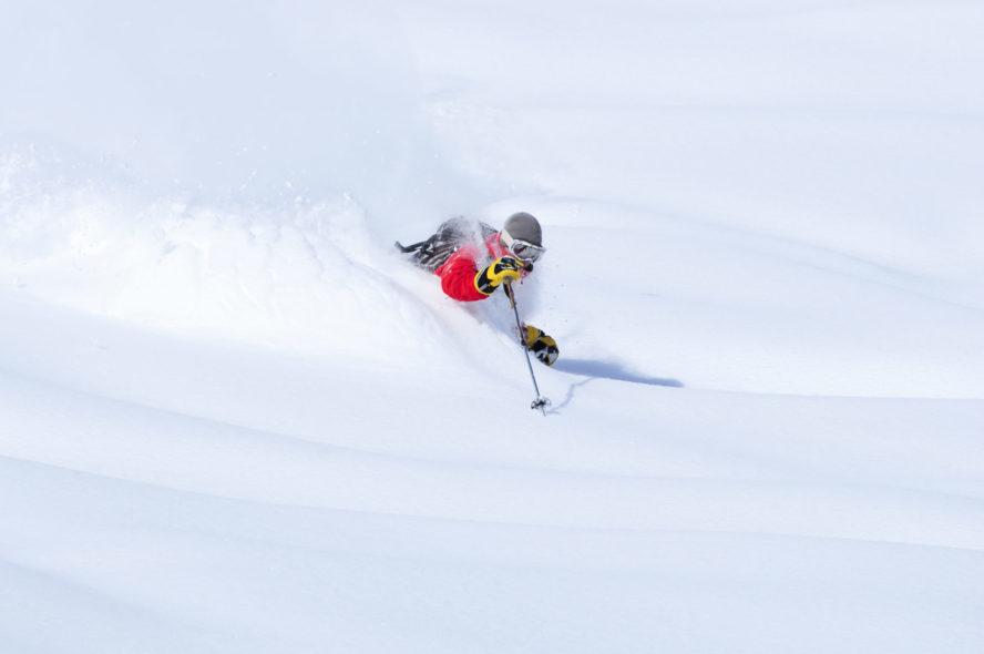 Colorado powder skiing